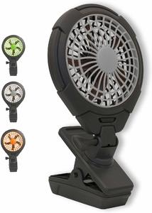 #11 O2COOL 5-Inch Battery Operated Clip Fan