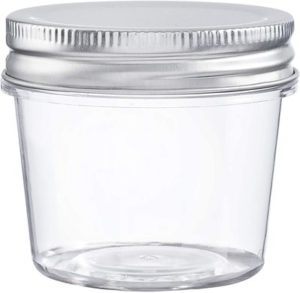 11. Darice 30066471 Plastic Jars with Lids