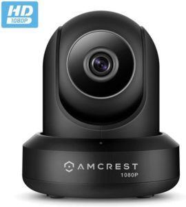 2. Amcrest ProHD 1080P WiFi Camera