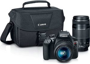 #2. Canon Digital SLR [EOS Rebel T6] Camera