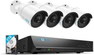 2. Reolink 4MP 8CH PoE Video Surveillance System