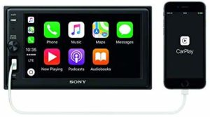 #3. Sony XAVAX1000 6.2(15.7 cm) Apple CarPlay Media Receiver with Bluetooth