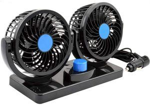 #5 AboveTEK Dual Head Car Fan