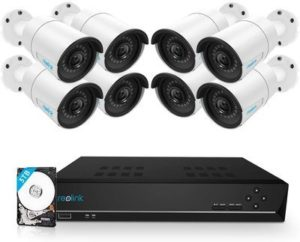 5. Reolink 16CH 5MP PoE Home Security Camera System