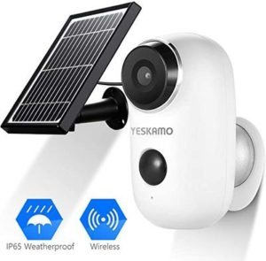 6. Solar Powered IP Camera Outdoor 1080P HD