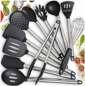 #7 Home Hero 11 Silicone Cooking Utensils