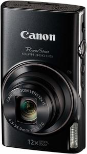 #7. Canon PowerShot Digital Camera ELPH 360 w