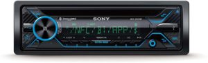 #7. Sony MEX-XB120BT Hi-Power Single-DIN