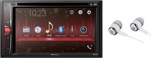 #8-.Pioneer Double DIN 6.2-inch WVGA Touchscreen