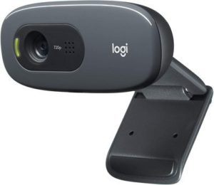8. Logitech C270 Desktop or Laptop Webcam