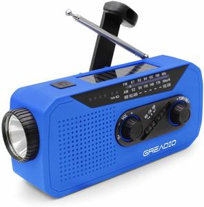 #9 Emergency Weather Solar Crank Radio
