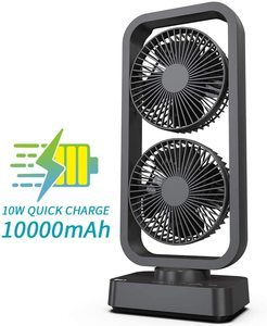#9 OPOLAR Battery Operated Desk Fan
