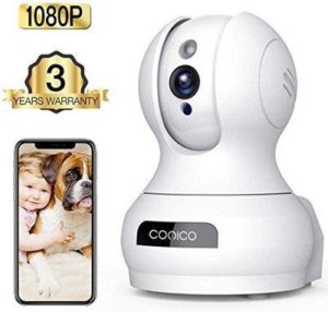 9. 1080P HD WiFi Pet Camera Baby Monitor