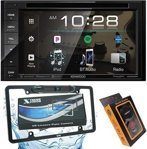 #9. Kenwood DDX26BT Double DIN in-Dash
