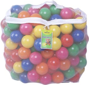 1. Click N' Play Pack of 200 Plastic Balls