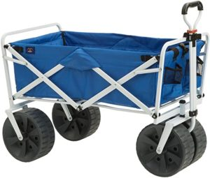 1. Mac Sports Collapsible All Terrain Utility Beach Wagon Cart
