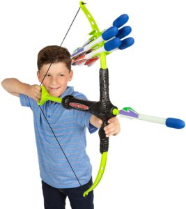 #1. Marky Sparky Faux Bow and Arrow - Shoots 100ft Plus