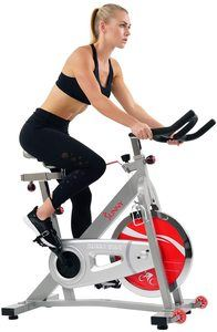#1. Sunny Health & Fitness Indoor Pro Cycling Bike