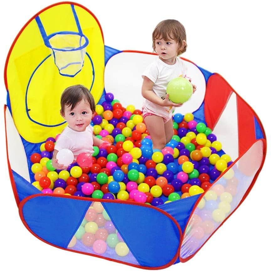 10. Eocolz Large Pop Up Childrens Ball Pits Tent