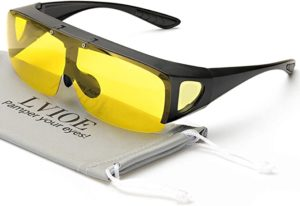 10. LVIOE Oversized Night Vision Glasses