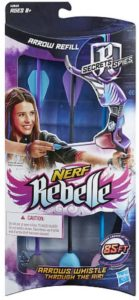 #10. Official Nerf Rebelle Secrets & Spies Arrow 3-Dart