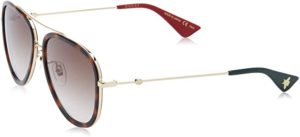 #12 Gucci GG0062 Pilot Women's Sunglasses