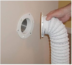 #2 Dryer Dock The Original Dryer Vent Quick Release - Two-Piece Dryer Hose Quick-Connect