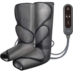 #2 FIT KING Leg Air Massager for Circulation and Relaxation Foot and Calf Massage with Handheld Controller 3 Intensities 2 Modes (with 2 Extensions)