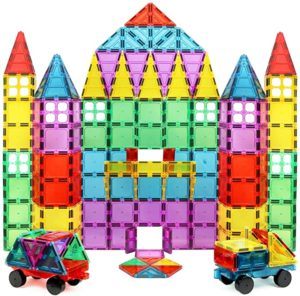 #2 Magnet Build Magnet Tile Building Blocks Extra Strong 3D Tiles