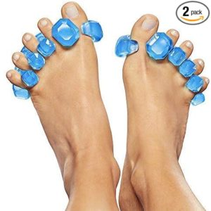 #2 Yoga Toes GEMS: Gel Toe Stretcher & Toe Separator - America's Choice for Fighting Bunions