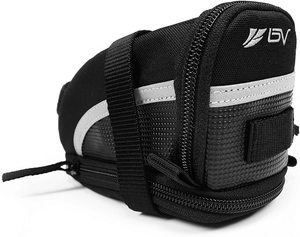#2. BV Bicycle Strap-On Cycling Bike Saddle Seat Bag…