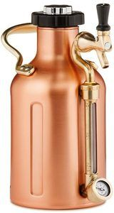#2. GrowlerWerks Copper 64 oz uKeg Carbonated Growler