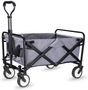 2. WHITSUNDAY Collapsible Folding Utility Wagon Cart