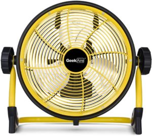 #3 Geek Aire Rechargeable Fan