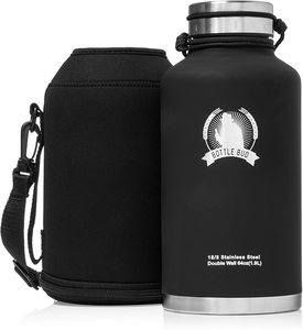 #3. Bottle Bud Vacuum Insulated Beer Growler