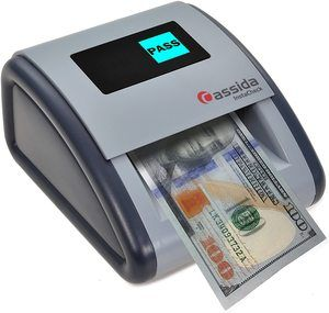 #3. Cassida Small Footprint Automatic Counterfeit Detector