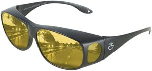 3. HD Day Night Driving Glasses Fit Over Sunglasses