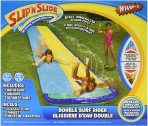 #3. Wham-O Slip AND Slide Surf Rider, 16ft, Double Sliding Lanes