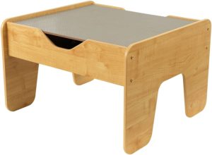 #4. KidKraft 2-in-1 GraNatural Activity Table plus Board,