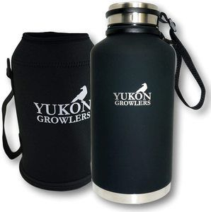 #4. Yukon Growlers Stainless Steel Insulated Beer Growler