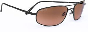#5 Serengeti Velocity Sunglasses (Satin Black) with Silicone Gel Nose Pads