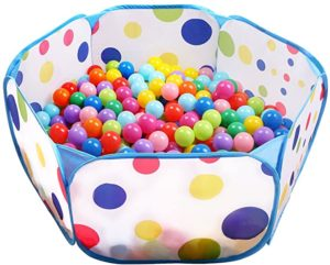 5. EocuSun Kids Ball Pit, Indoor Outdoor Baby Playpen