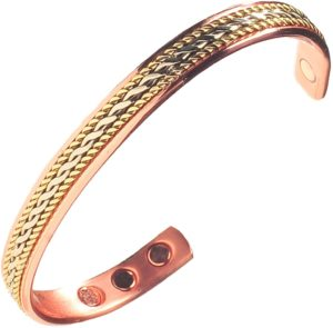 #5. Women's Pure Copper Healing Magnetic Bracelet