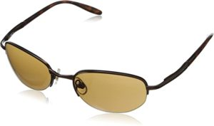 #6 Foster Grant Men's Driver 52 Oval Sunglasses