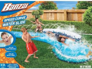 #6. BANZAI 84731 Multi-Colored Water Slide