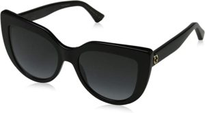 #7 Gucci sunglasses (GG-0164-S 001) Shiny Black - Grey Gradient lenses
