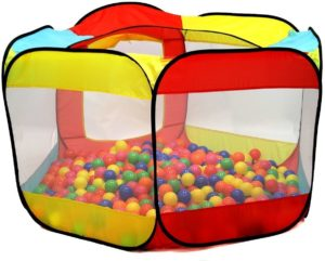 7. Kiddey Ball Pit Play Tent for Kids