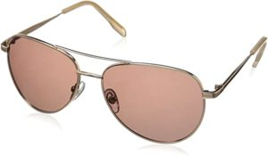 #8 Foster Grant Women's Prelude Rose POL 10232829.COM Polarized Aviator Sunglasses