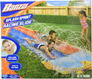 #8. BANZAI Spring & Summer Splash Sprint Slide 16ft