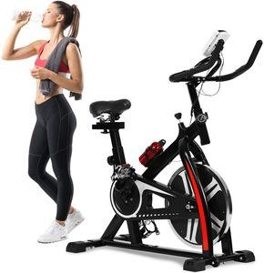 #8. Exercise Bike Recumbent indoor Spin Cycling Bike